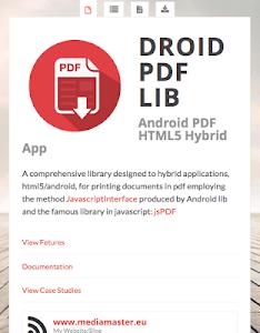 PDF SDK for Hybrid Apps screenshot 0