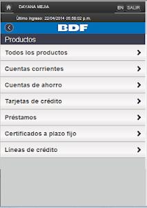 iBDF Móvil screenshot 3