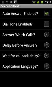 ComfortCallback screenshot 1