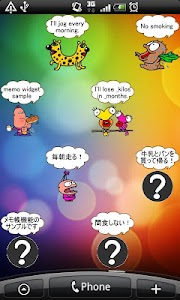Daily Cartoon003 LWP & Clock screenshot 6