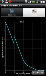 X-Ray Attenuation Calc. Free screenshot 2