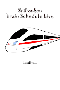 Sri Lankan Live Train Schedule screenshot 0