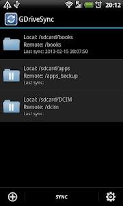 GDriveSync screenshot 0