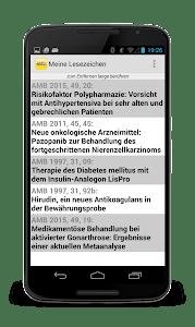 DER ARZNEIMITTELBRIEF screenshot 2