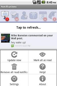 MB Notifications for Facebook screenshot 3