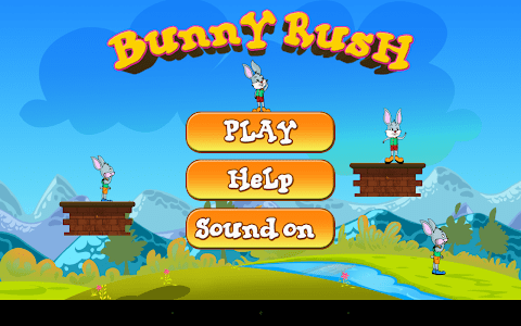 Bunny Rush Run screenshot 1