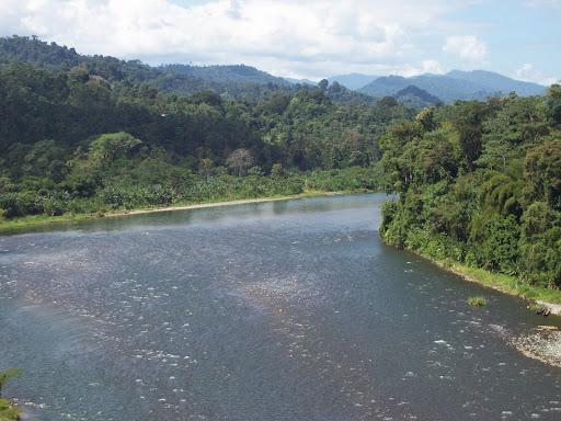 Territorio Naso Teribe en Bocas del Toro, Panamá, donde el gobierno nacional de facto pretende auspiciar una hidroeléctrica