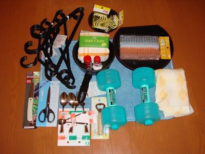 100 YEN Store Stuff