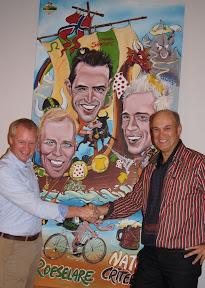 Filips Dhondt winnaar Zoek de Leeuw cartoonwedstrijd van Filip Cardoen