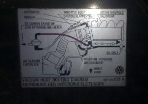 VWVortex  Vacuum Hose Routing Question