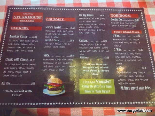 Mackenzie's Burger Bar Malvern Big Kahuna Burger