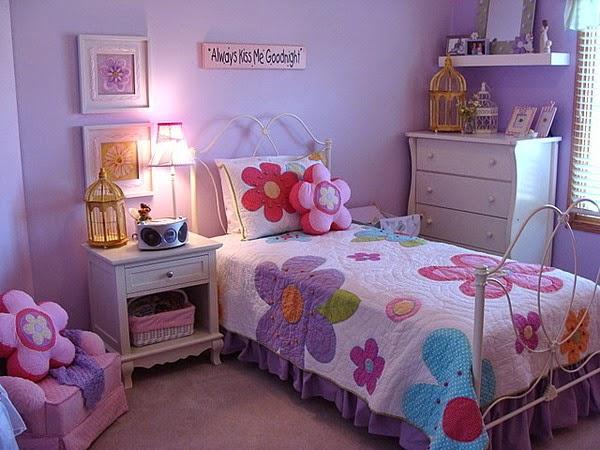 Idea Dekorasi Bilik Tidur Anak Perempuan