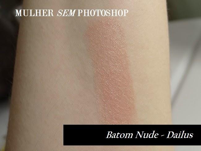 Resenha batom Nude da Dailus