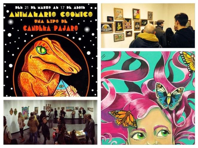 Candela Pájaro. Animalario Cósmico, Ink Inside Gallery