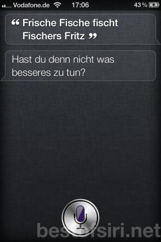 Best Of Siri Deutsch Lustige Fragen Antworten Spruche Und