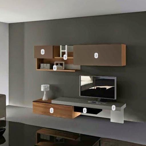 dix meubles tv suspendus au mur