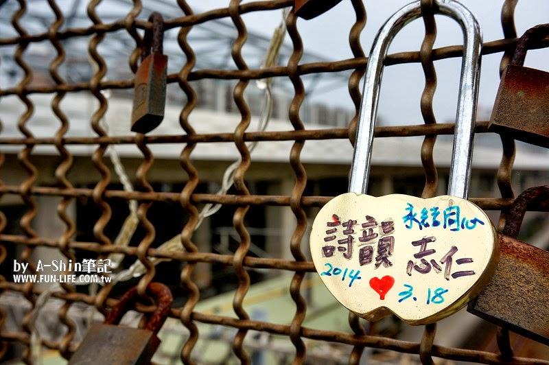 心鎖橋 全球第六座心鎖橋-豐原心鎖橋,熱戀情人必訪聖地,快來心鎖橋鎖護愛情吧~