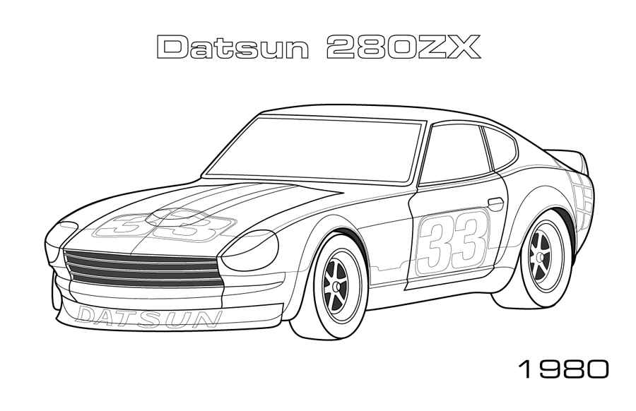Car Coloring Page. car coloring page further transformer ...