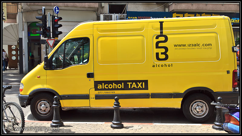 Alcohol taxi