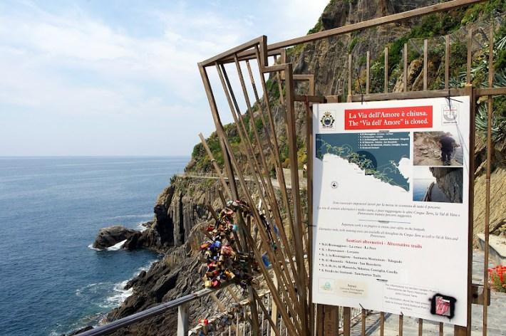 La Vía del Amor en Riomaggiore