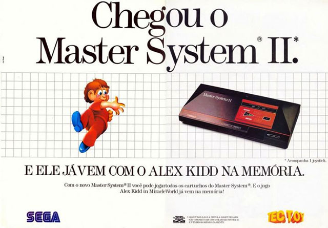 Anúncio do Master System II