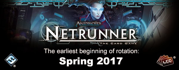 Fantasy Flight Games, LCG State of th Union, Rotation, Netrunner, Crying Grumpies