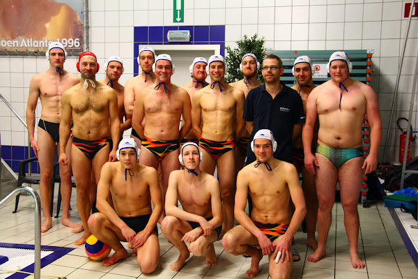 Waterpolo team RZV Roeselare
