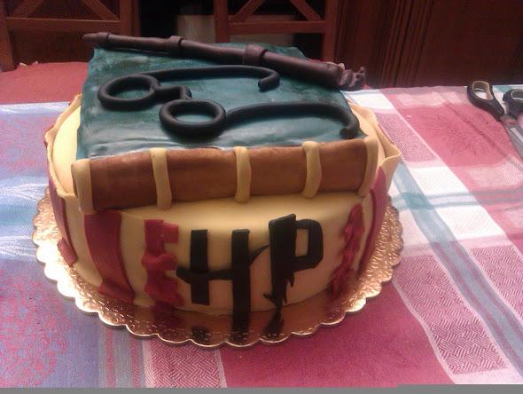 La mia torta di compleanno…