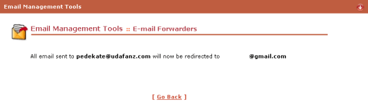 email forwarder