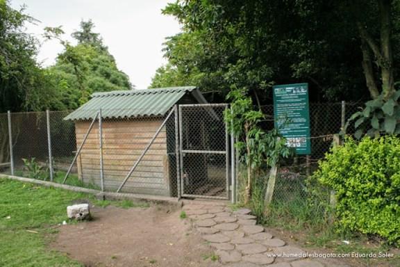 Entrada al Humedal La Conejera
