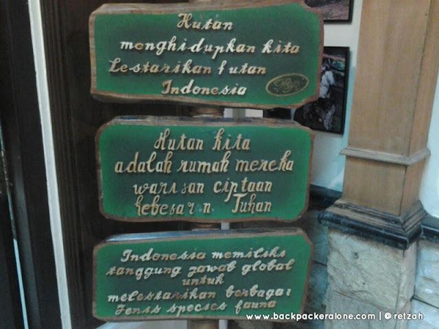 Pesan Dari  Museum Rahmat