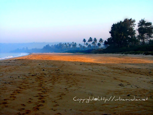 Vengurla Beach in the morning