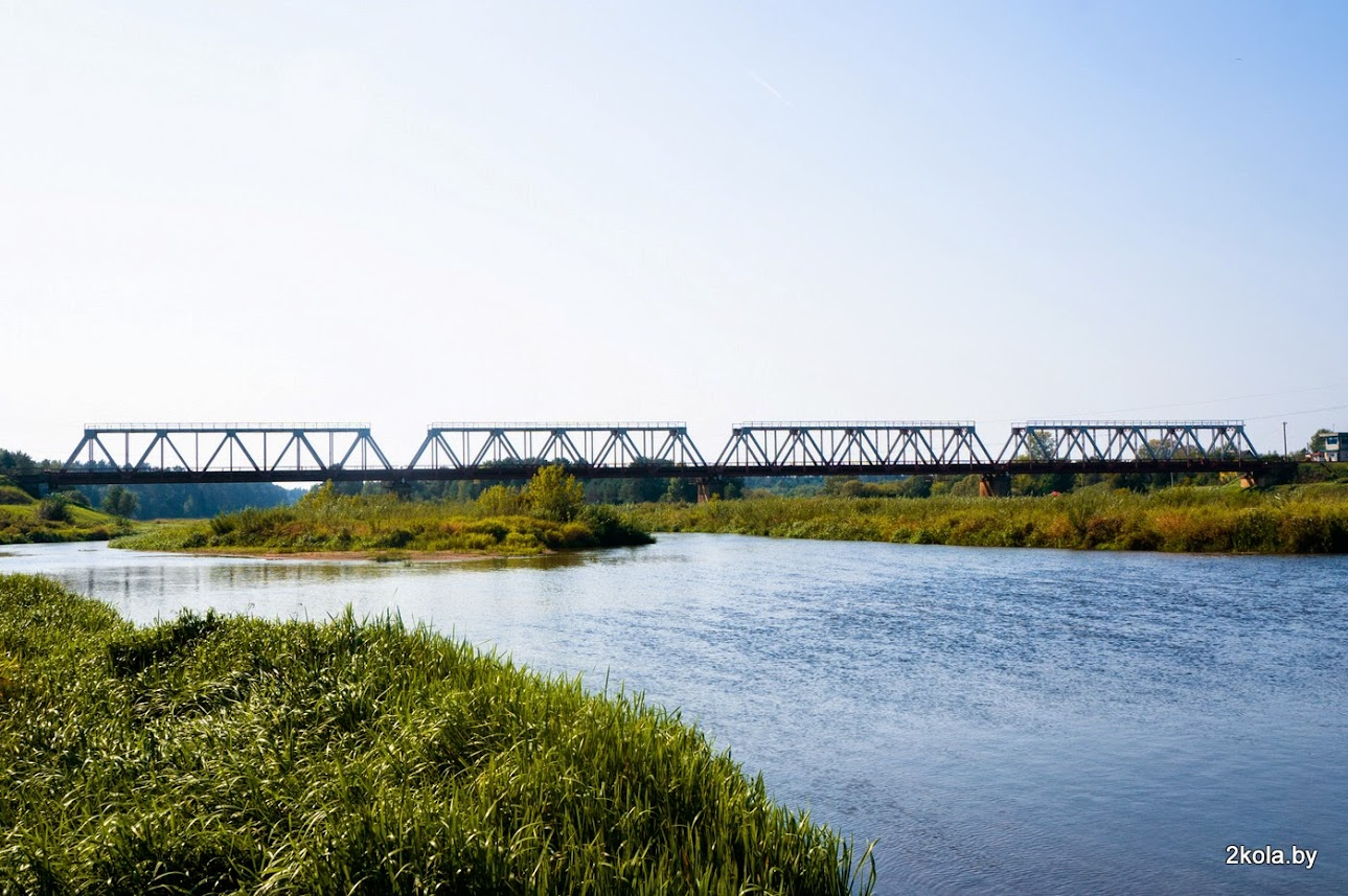 ЖД мост через Нёман