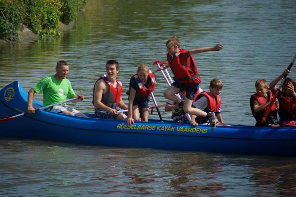 watersportdagen bij de Roeselaarse kajakvaarders