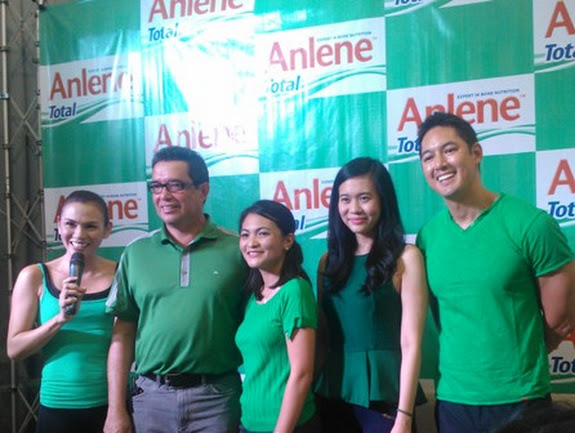 Anlene Total launch