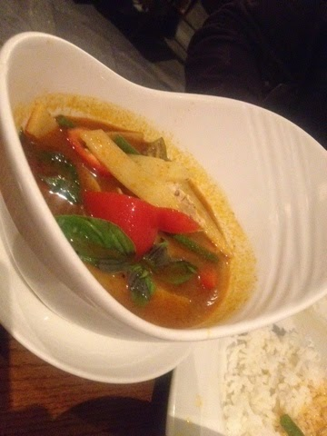 Jungle Curry with chicken, bamboo and spices