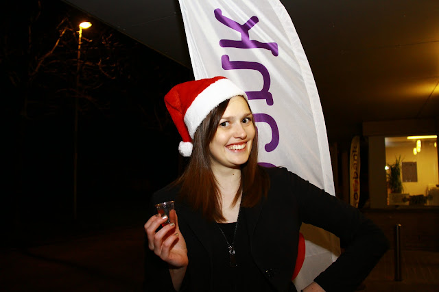 Delphine D'hulster, kerstmarkt bij Bevo
