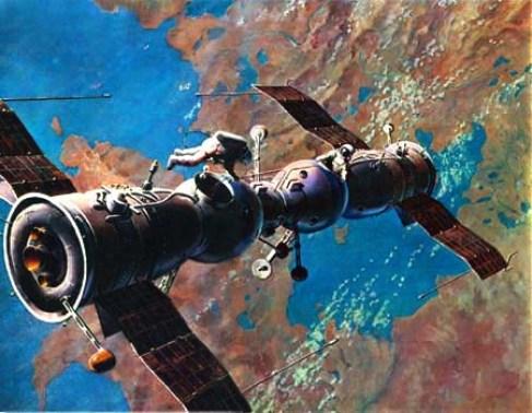 Resultado de imagen para Soyuz 1 y Soyuz 2