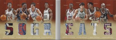 12/13 Preferred 50 Greats Book Card Jersey