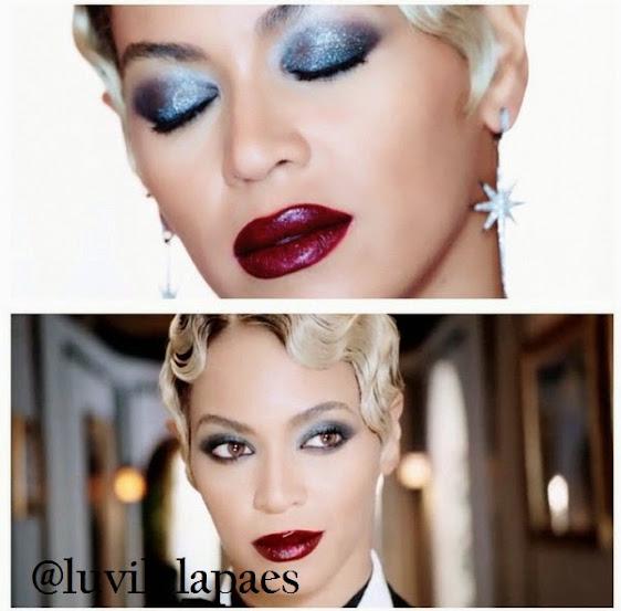 Maquiagem Beyonce no clipe Haunted
