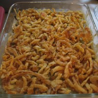 Thanksgiving: Green Bean Casserole