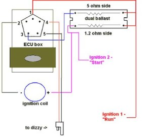 78 Dodge D150 318 dual ballast wiring diagram  DodgeForum