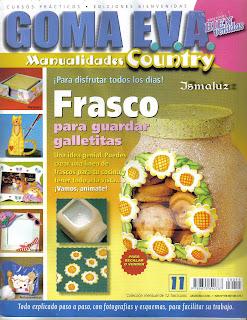 Goma Eva Manualidades Country Nro. 11