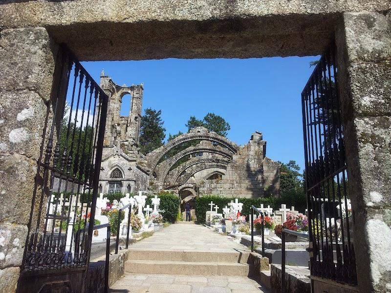 Entrada al Cementerio de Cambados - Santa Mariña Dozo