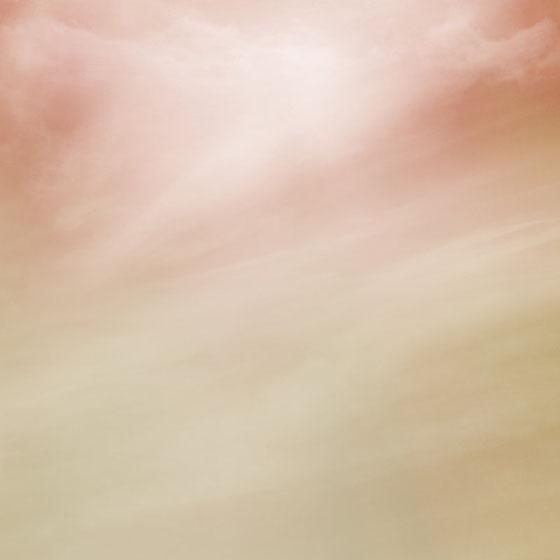 Céu suave rosado