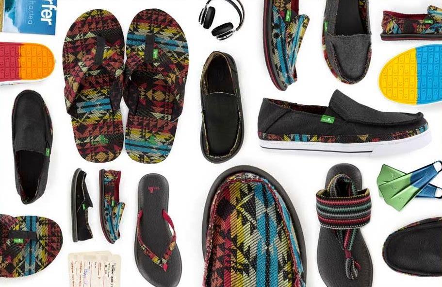 #Sanuk BASELINE STACKED 快樂南洋風:讓你抓住夏天的尾巴,輕鬆踩踏! 1