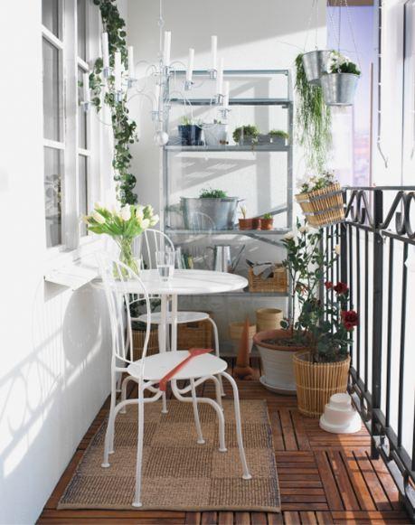 Decoración de balcones, ideas e inspiración.