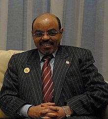 Prime Minister of Ethiopia Meles Zenawi.