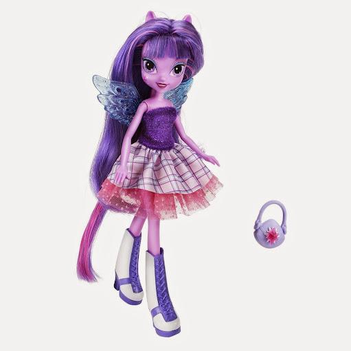 2014 Hot Toys My Little Pony Equestria Girls Dolls - Twilight Sparkle