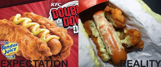 kfc double down dog philippines